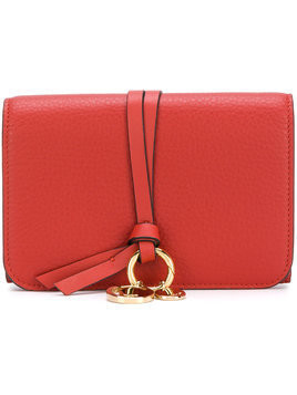 Chloé small Alphabet wallet - Red