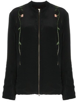 By Walid floral embroidered jacket - Black