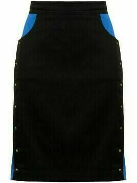 Kenzo Pre-Owned high-waisted fitted skirt - Blue