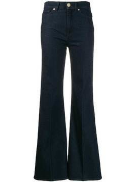 7 For All Mankind five-pocket flared trousers - Blue
