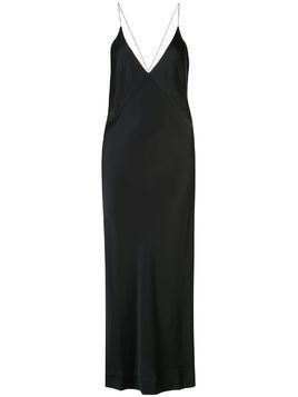 Haider Ackermann v-neck slip dress - Black
