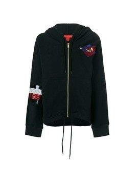 Hilfiger Collection Tommy Owls hoodie - Black