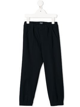 Il Gufo elasticated track pants - Blue