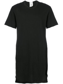 Lost & Found Rooms Over longline T-shirt - Black
