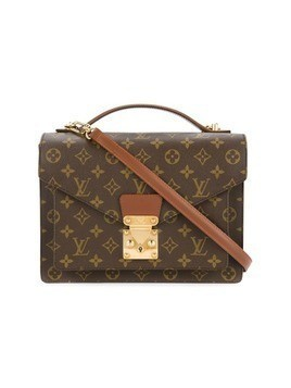 Louis Vuitton Vintage Monceau 28 2-way Business Hand Bag - Brown