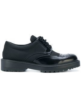Prada chunky soled brogues - Black