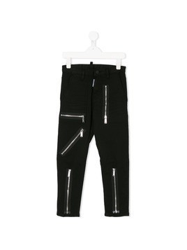 Dsquared2 Kids zipped trousers - Black