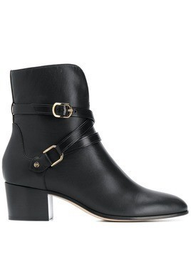Jimmy Choo Harker 45mm boots - Black