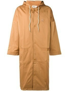 Drôle De Monsieur NFPM long raincoat - Neutrals