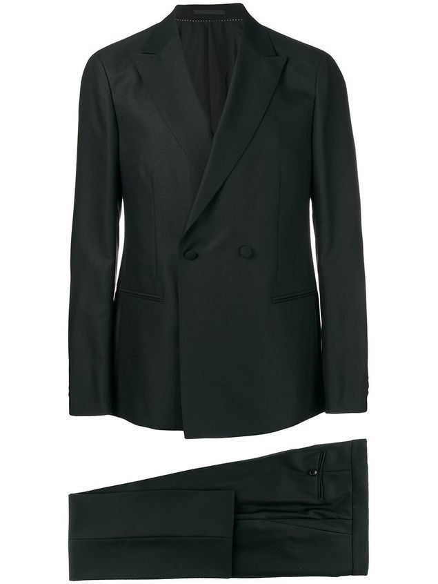 Z Zegna two piece formal suit - Black