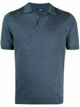 Barba short-sleeved polo shirt - Blue