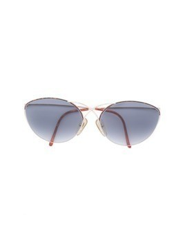 Christian Dior Vintage cats eye sunglasses - Metallic