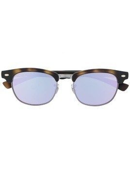 RAY-BAN JUNIOR Clubmaster sunglasses - Brown