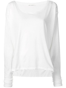 Isabel Benenato round neck jumper - White