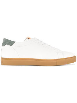 Closed - lace-up sneakers - Herren - Leather/rubber - 43 - White