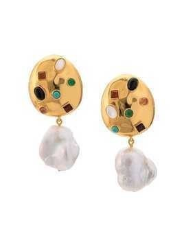 Lizzie Fortunato Jewels La Bomba earrings - GOLD