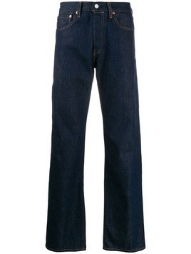 Levi's: Made & Crafted straight-leg jeans - Blue