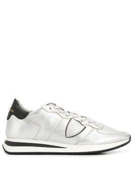 Philippe Model Paris side logo sneakers - SILVER