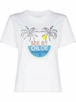 See by Chloé Summer Tour crew-neck T-shirt - White