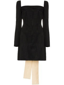 Ellery Paalen silk mini dress - Black