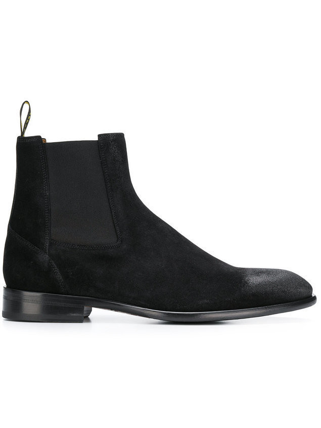 Doucal's Beatles chelsea boots - Black