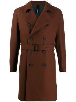 Hevo Savelle belted trench coat - Red
