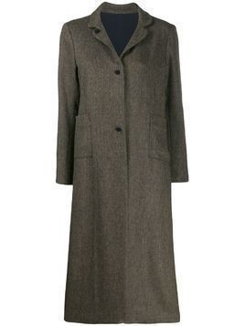 Daniela Gregis single-breasted coat - Blue