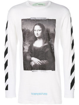 Off-White - Mona Lisa print sweatshirt - Herren - Cotton - L