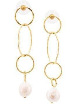 Lizzie Fortunato Jewels The Lake City earrings - Gold