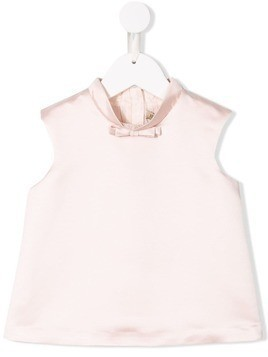 Hucklebones London bow-detail sleeveless top - Pink
