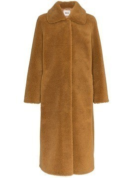 Stand Gilberte Teddy faux-fur coat - Brown