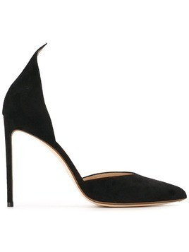 Francesco Russo pointed toe pumps - Black