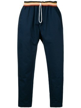 Corelate drawstring track trousers - Blue