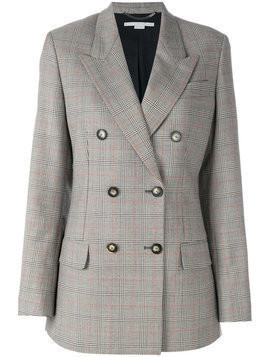 Stella McCartney nicola check jacket - Grey
