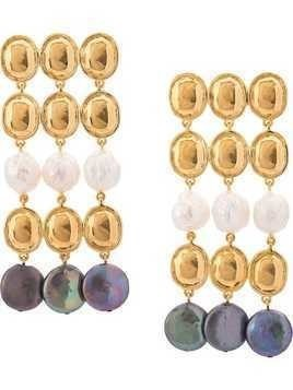 Lizzie Fortunato Jewels Empress earrings - GOLD