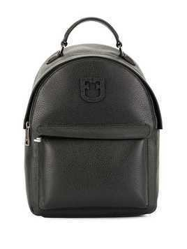 Furla Favola logo patch backpack - Black