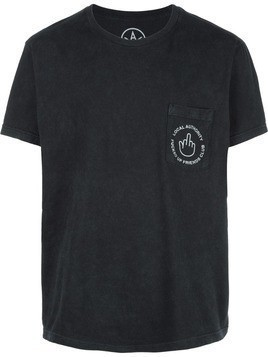 Local Authority relaxed fit print t-shirt - Black