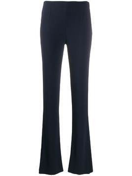 Galvan slashed tuxedo trousers - Blue
