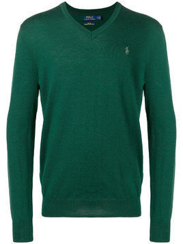 Polo Ralph Lauren v-neck jumper - Green