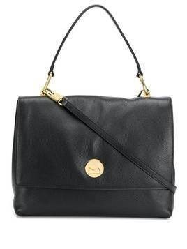 Coccinelle Liya leather tote - Black