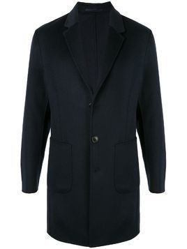 Kent & Curwen single-breasted tailored coat - Blue