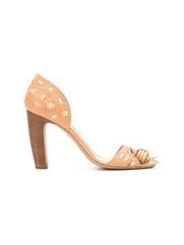Céline Vintage block heel sandals - Brown