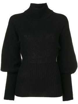 Maggie Marilyn turtle-neck sweater - Black