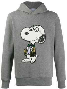 Lc23 Snoopy embroidered hoodie - Grey
