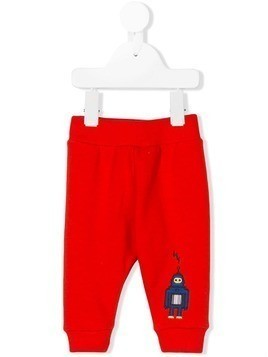 Paul Smith Junior embroidered robot trousers