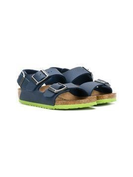 Birkenstock Kids buckled sandals - Blue