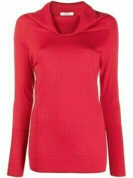 Snobby Sheep cowl neck jumper - Red