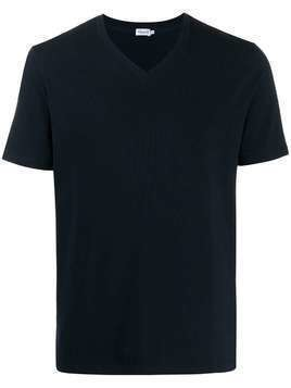 Filippa-K V-neck roll hem T-shirt - Blue