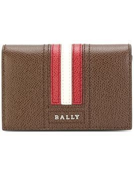 Bally stripe detail logo wallet - Unavailable