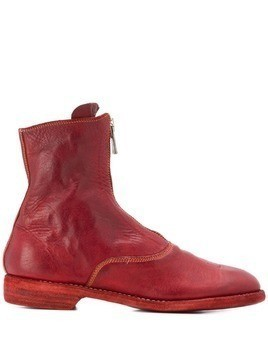 Guidi western-style ankle boots - Red